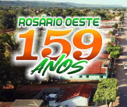 Rosário Oeste comemora aniversário de 159 anos